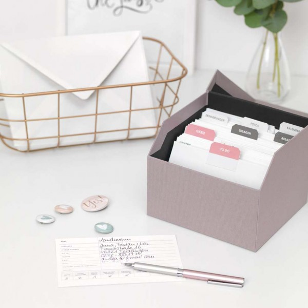 MyWeddingBox: Gästemanager-Karten